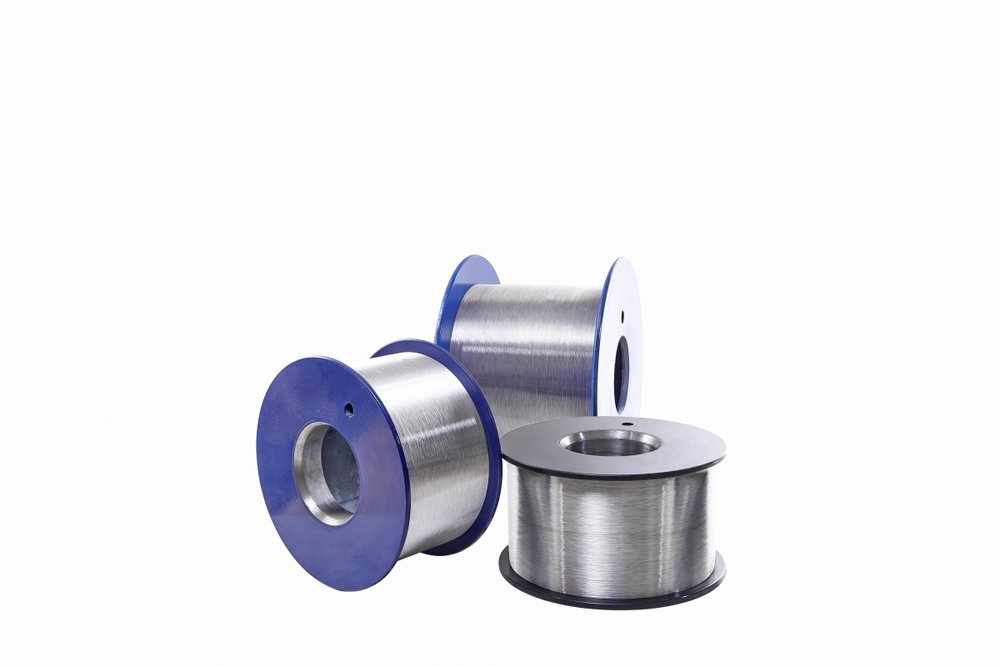 METALLIC SPOOLS - (DIN 46397 - 46395)Mono Wire Dia (mm): 0.12-9.00 Multi Wire Dia (mm): 0.12-0.50 Weight (kg): 30-200