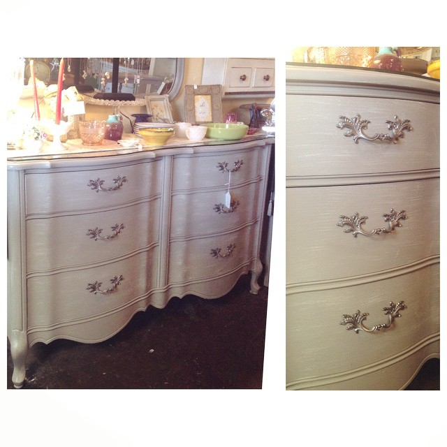 Happy Motheru0027s Day! A Perfect Reason To Treat Yourself To A Vintage  Dresser. Grey