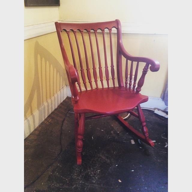 Antique Rocking Chair, $75 #NotTooShabby #CulverCity #ShabbyChic #Vintage  #Antique #