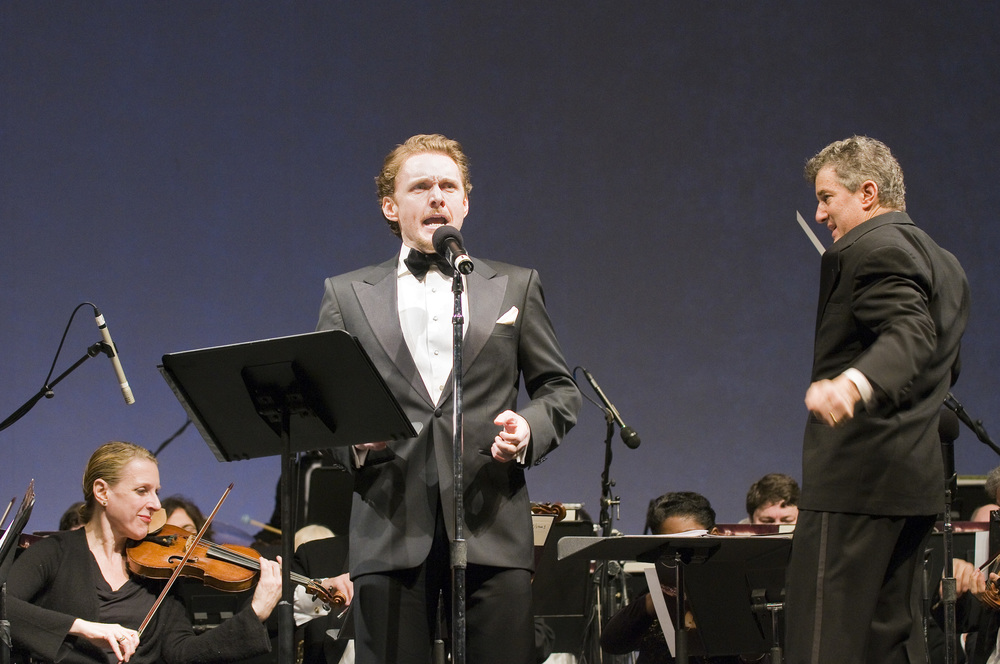 "TENOR JASON DANIELEY PERFORMS ""AND BOLD TO FALL WITHAL"" WITH THE KNICKERBOCKER CHAMBER ORCHESTRA IN JANUARY 2010 AT THE WORLD FINANCIAL CENTER WINTER GARDEN. PHOTO CREDIT: ADAM HUME"