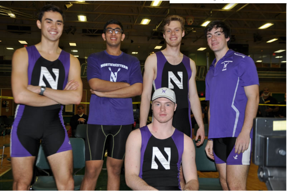 Matt Wuest, Arpan Doshi, Sebastian Masiakowski, Robert Houghton, Evan Wilson (left to right, top to bottom)