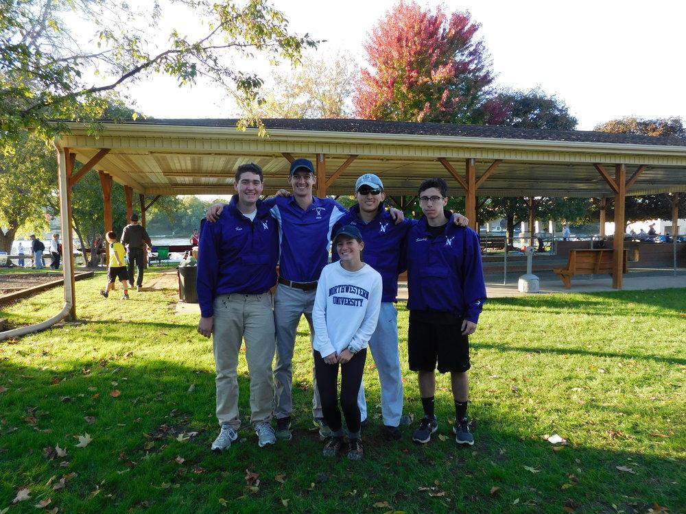 Northwestern Men's 4+ (B): Cox: Caroline O'Connell, 4: Ian Kuo, 3: Kyle Aldrich, 2: Phillip Choi, 1: Joe Sanchez