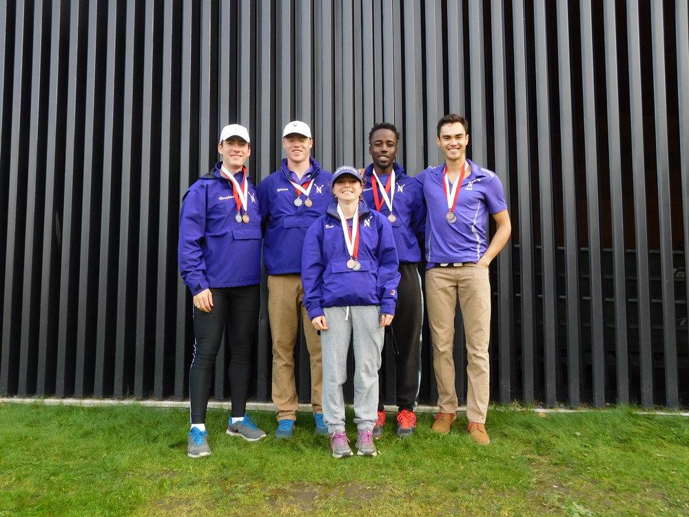 Northwestern Men's 4+ (A):  Cox: Ariela Berg, 4: Robert Houghton, 3: Evan Wilson, 2: Craig Wanda, 1: Matthias Wuest