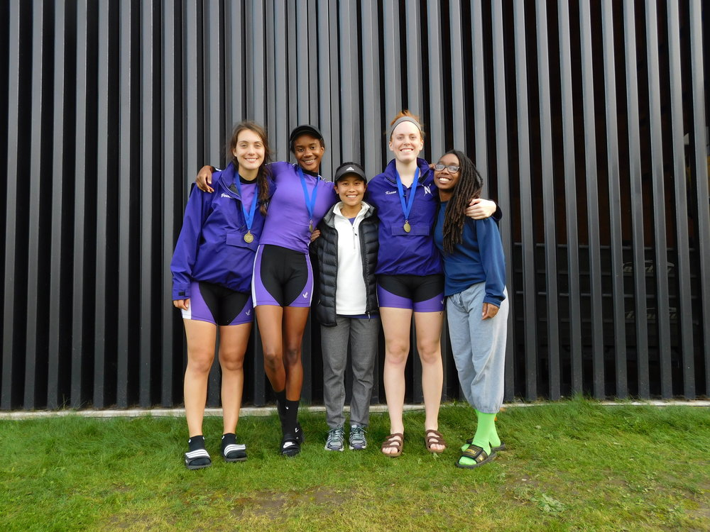Northwestern Women's 4+ (B): Cox: Megan Yee, 4: Katie Perry, 3: Maria Peurach, 2: Jenn Kroon, 1: Angela Cureton