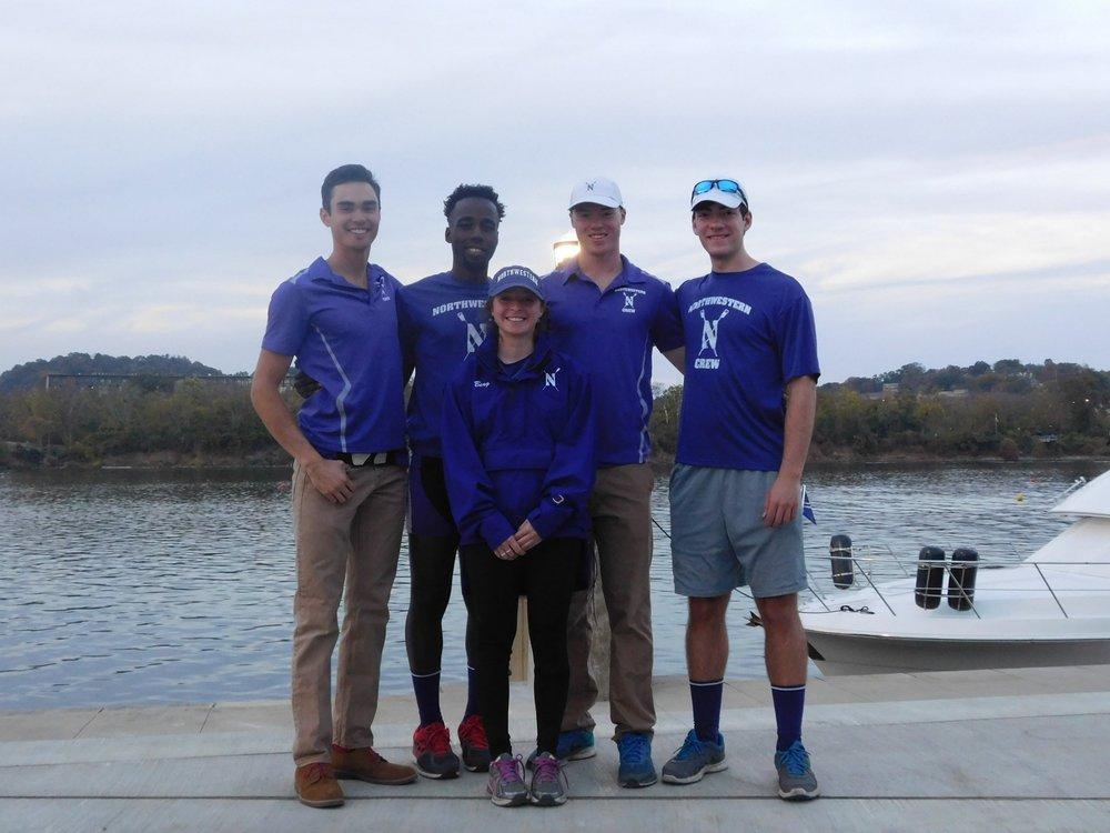 Northwestern Men's Championship 4+: Cox: Ariela Berg, 4: Robert Houghton, 3: Evan Wilson, 2: Craig Wanda, 1: Matt Wuest
