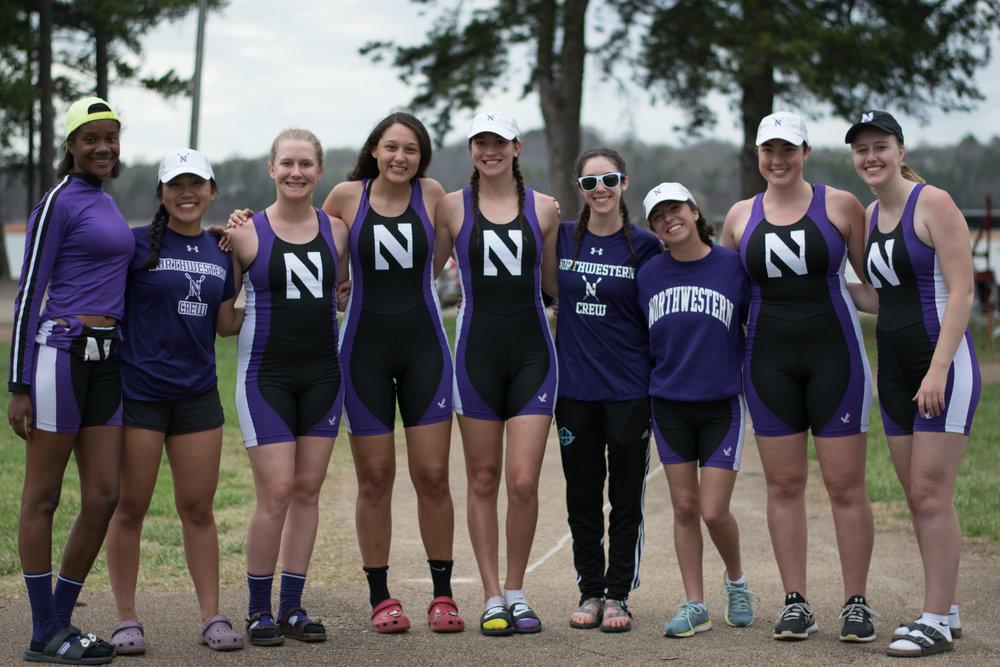 Northwestern Women's Novice 8+