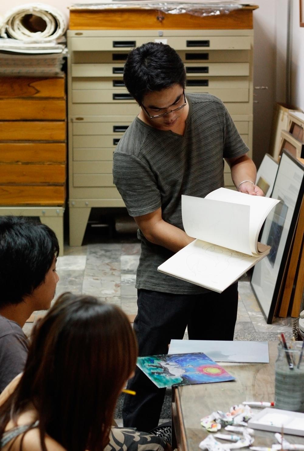 Kitikong Tilokwattanotai at C.A.P studio