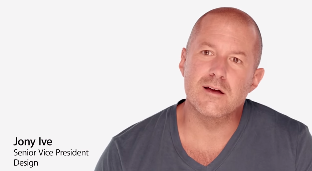 Johnny Ive of Apple