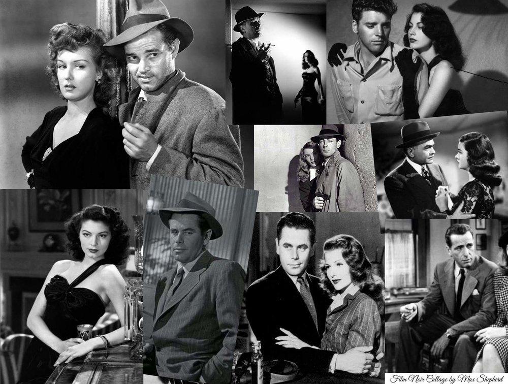film noir costumes