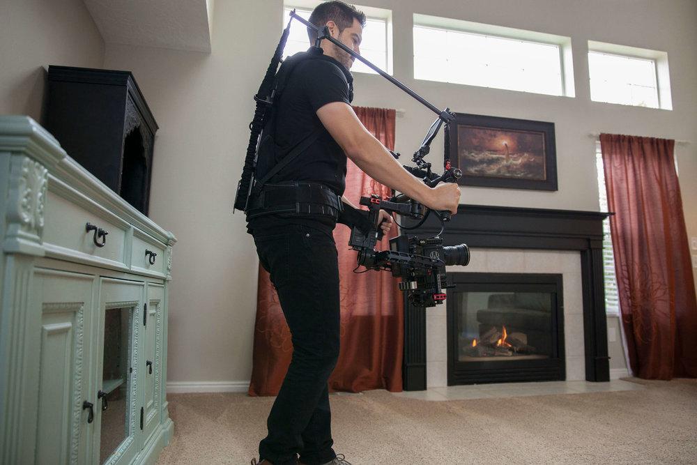 real estate filming