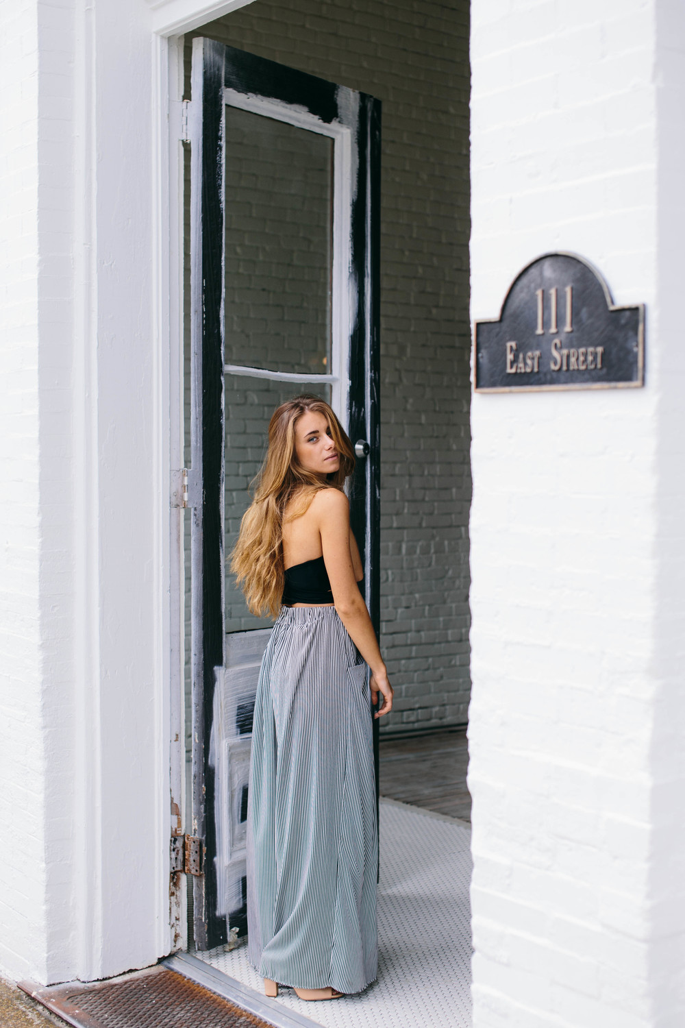 Location: One Eleven East, Wedding + Event space in Hutto, Tx Designer + Stylist: Chelsea Nordyke, Spire the Label Jewelry: Jen Moulton, Moulton Jewelry Model: Rekadrienn, Fashion Blogger