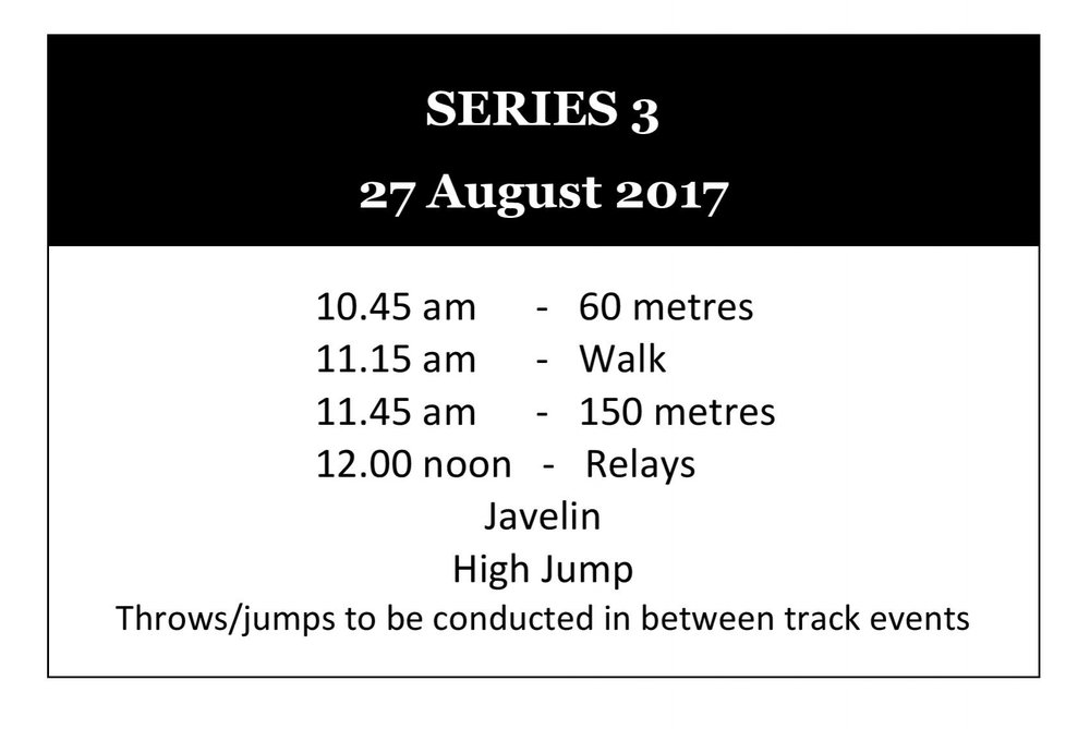 Winter Track & Field Series 3