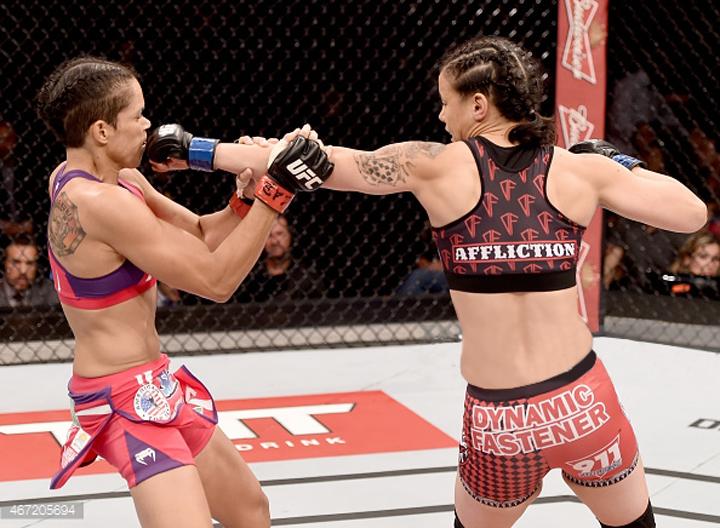 March 2015. Shayna Baszler UFC Fight Night 62 fight kit.
