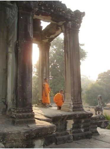 Angkor Wat Close Up