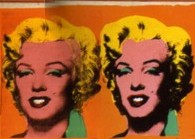 Close-Up Andy Warhol Excerpt Marilyn Diptych