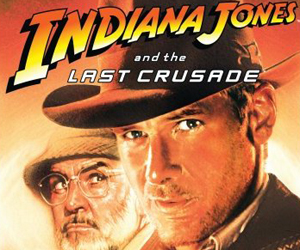 movie poster indiana jones and the last crusade