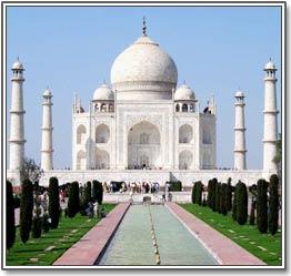 Taj Mahal By Day