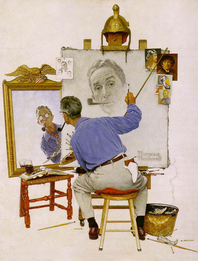 Rockwell_Self Portrait