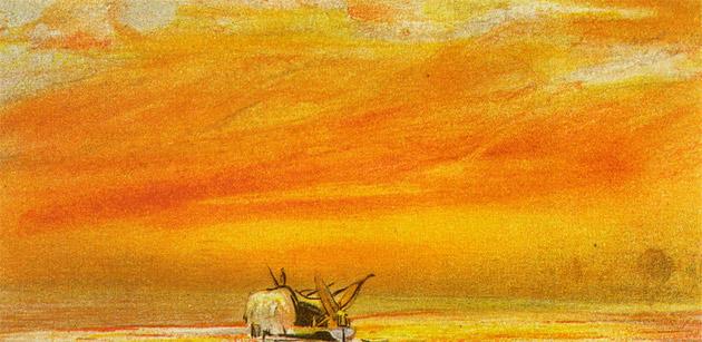 Krakatoa Sunset