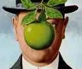 Magritte_Son of Man_Close-up