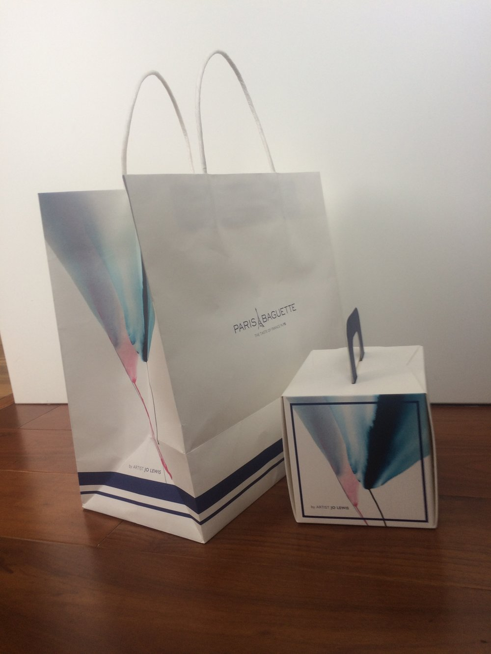 Shopping bag and cake box!