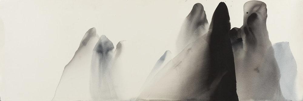 Li River 1, 111 x 38cm, Ink on paper