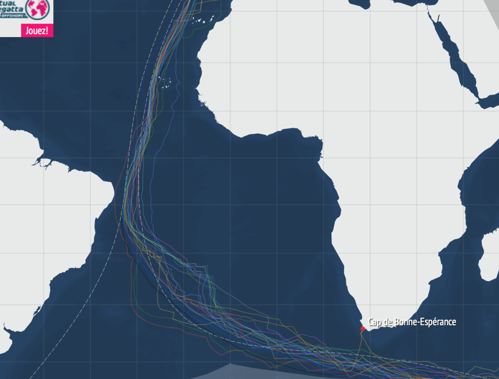 vendee globe tracks