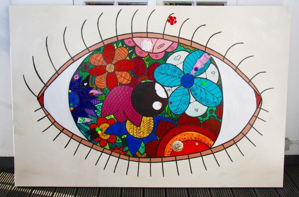 Flowery eye