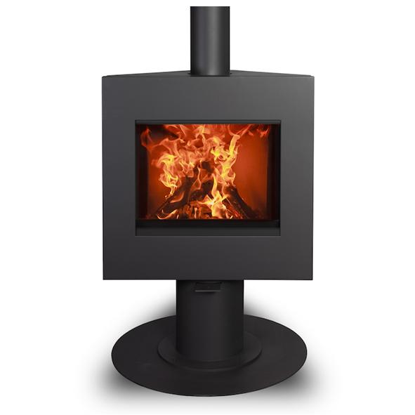Harrie Leenders Dia Base Rotatable Wood Burning Stove