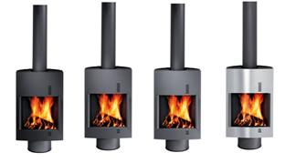 Available in five colour options (Black, Anthracite, Grey Stainless Steel and White)
