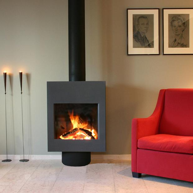 Harrie Leenders Signa Rotatable Wood Burning Stove