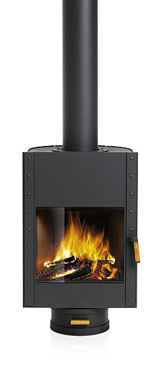 Harrie Leenders Stor Rotatable Wood Burning Stove