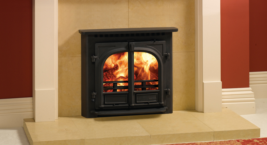 Stovax Stockton 8 Inset Convector Wood Burning Stove