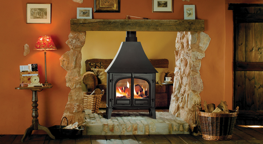 Stovax Stockton Double Sided Wood Burning Stove