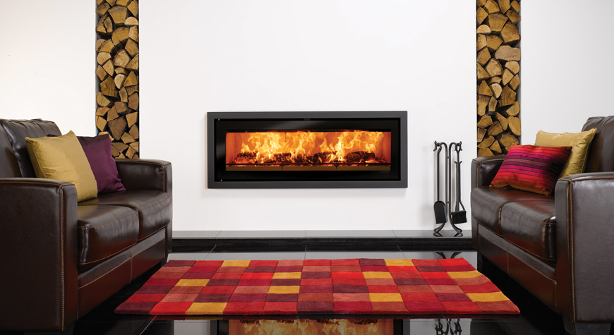 Stovax Riva Studio Profil Wood Burning Stove