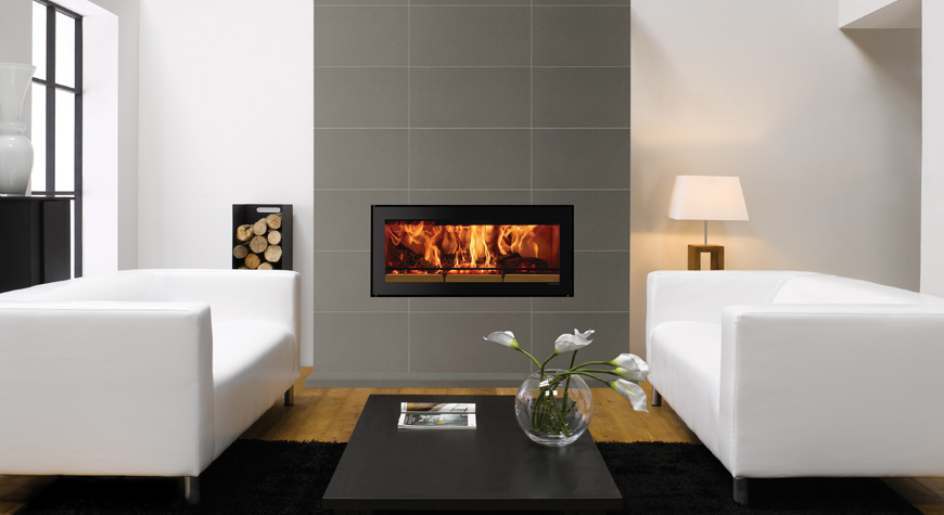 Stovax Riva Studio Edge Wood Burning Stove