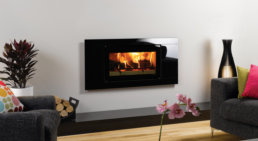 Stovax Riva Studio Glass Wood Burning Stove