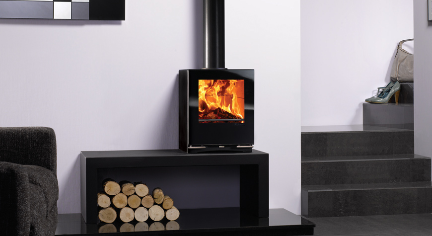 Stovax Riva Vision Small Wood Burning Stove