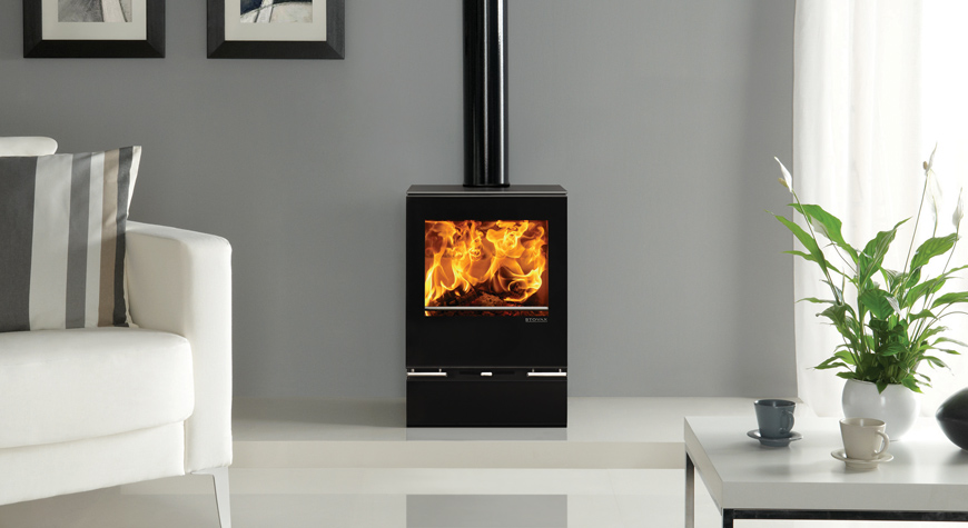 Stovax Riva Vision MidiWood Burning Stove