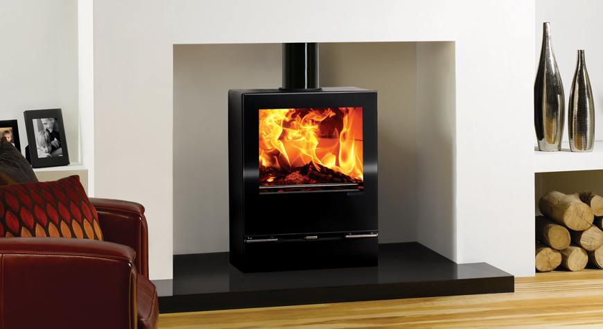 Stovax Riva Vision Medium Wood Burning Stove