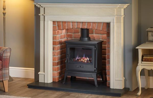 Kensington Fireplace surround in Honed Ubrian Stone