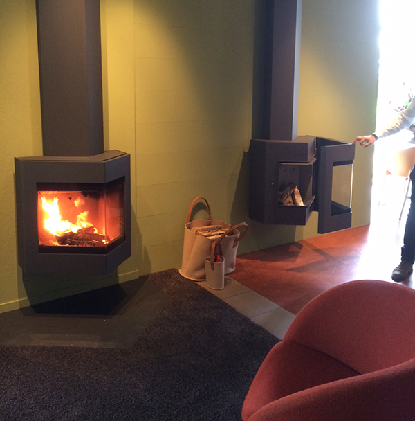 Harrie Leenders Oris Wood Burning Stove