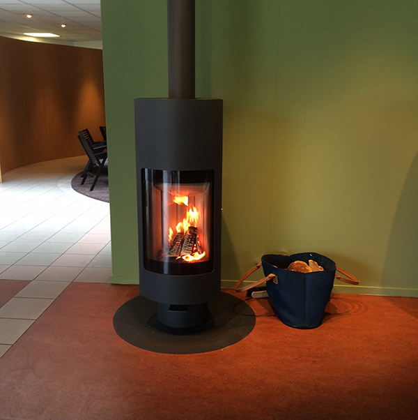 Harrie Leenders Dayna Wood Burning Stove