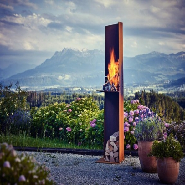 RAIS Angle, Outdoor Fire
