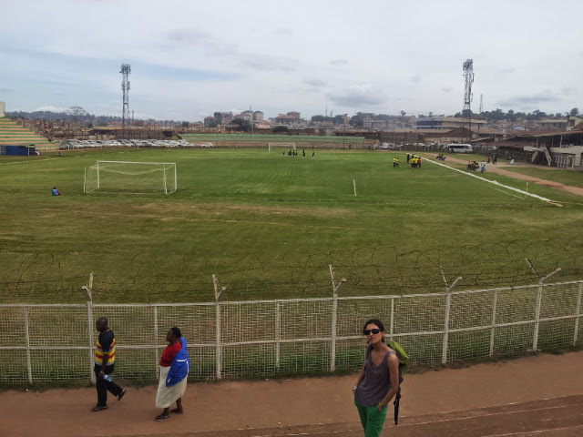 Nakivubo Stadium, Kampala, February 2014