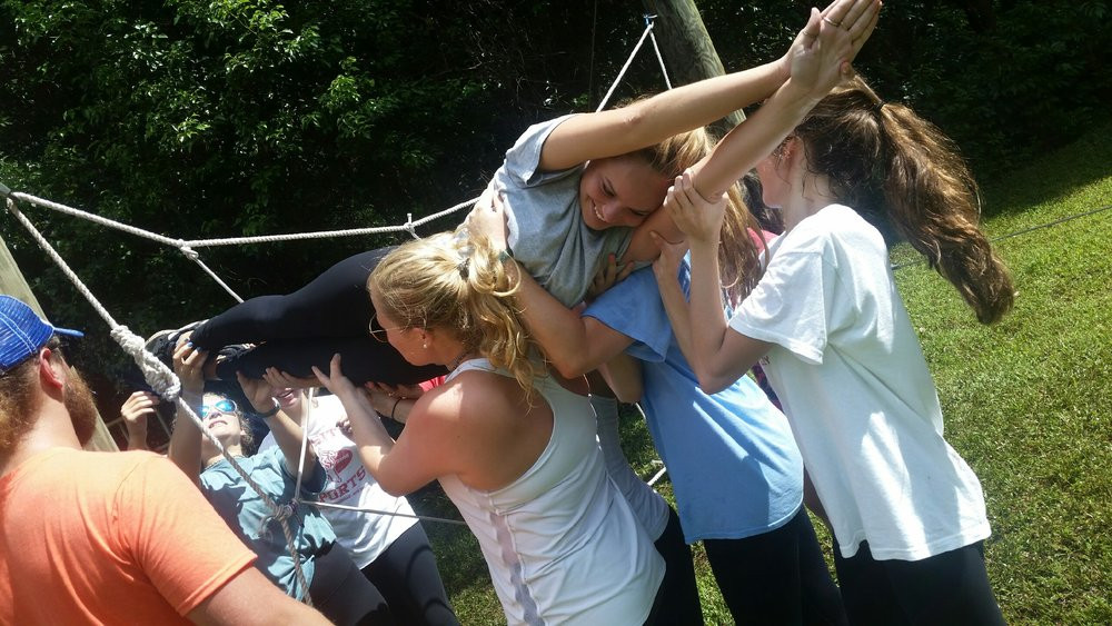 Academy of the Sacred Heart - Low Ropes.JPG