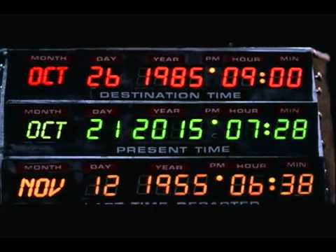 Back to the Future: Oct 21st 2015