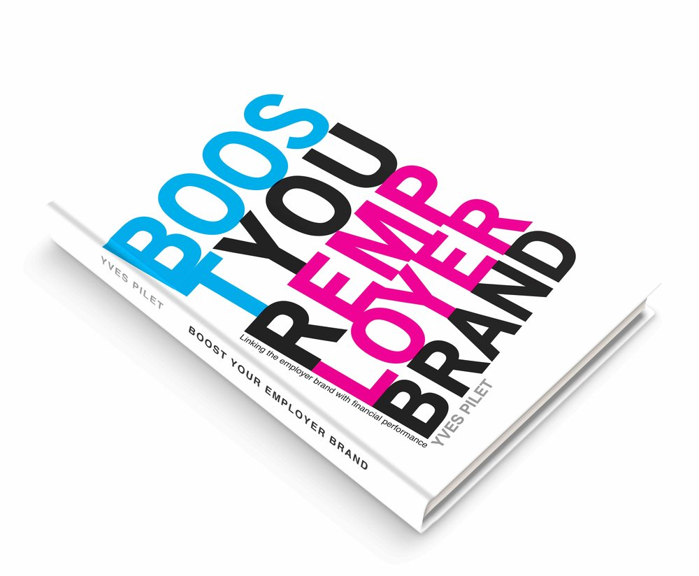 Coming soon On the 15th of November Yves will launch his new book 'Boost Your Employer Brand'. His book is about attracting, motivating and retaining employees with his methodology Blue Print.
