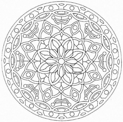 A Centering Art Activity Such As Coloring Mandala Circle Design With Geometric Patterns Before Group Has Been Shown To Increase An