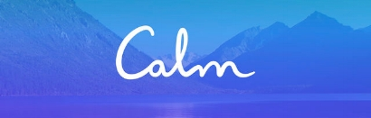 Calm  -   Reduce anxiety, sleep better and feel happier. I love this app for simple guided or non-guided meditation, relaxation tools including an adjustable breathing tool, and sleep assistance tools.